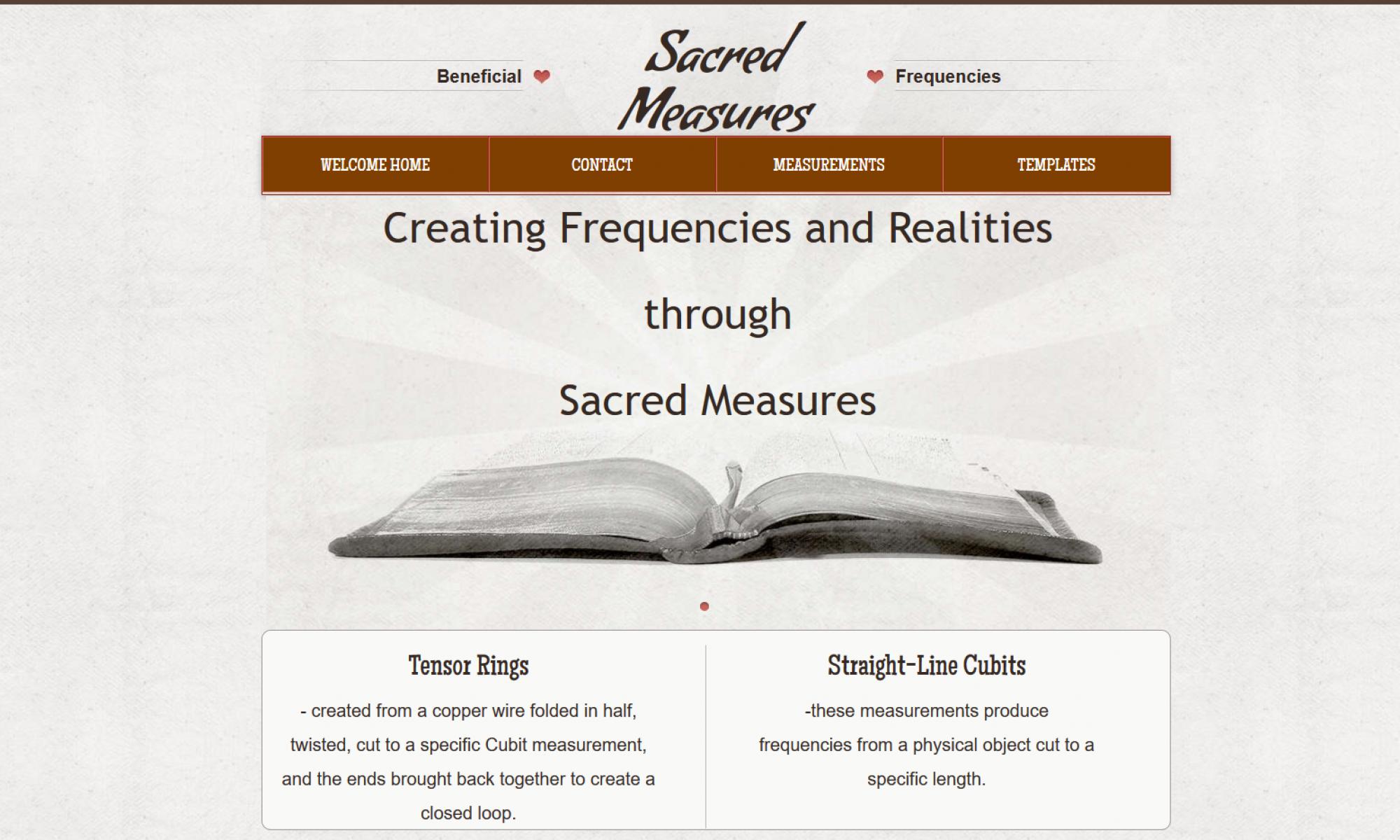 Sacred Measures